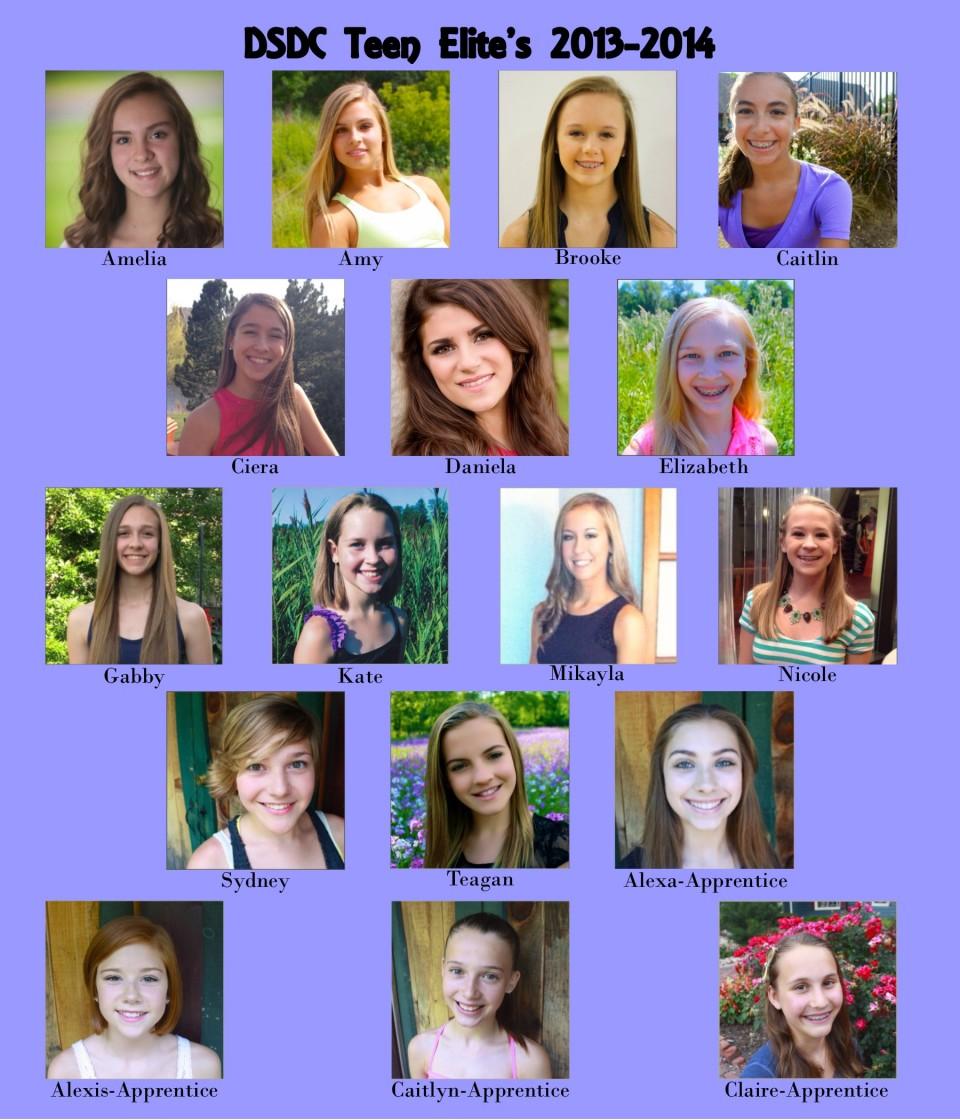 DSDC Teen Elites 2013-2014